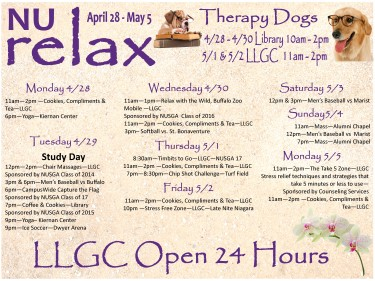 relaxation week large poster